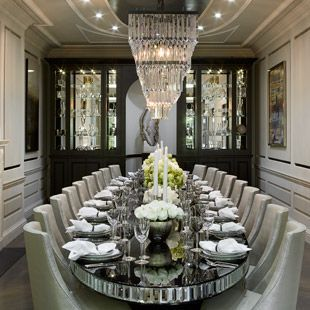 London House Design by Cocovara Interiors! Dining room ideas Modern ...