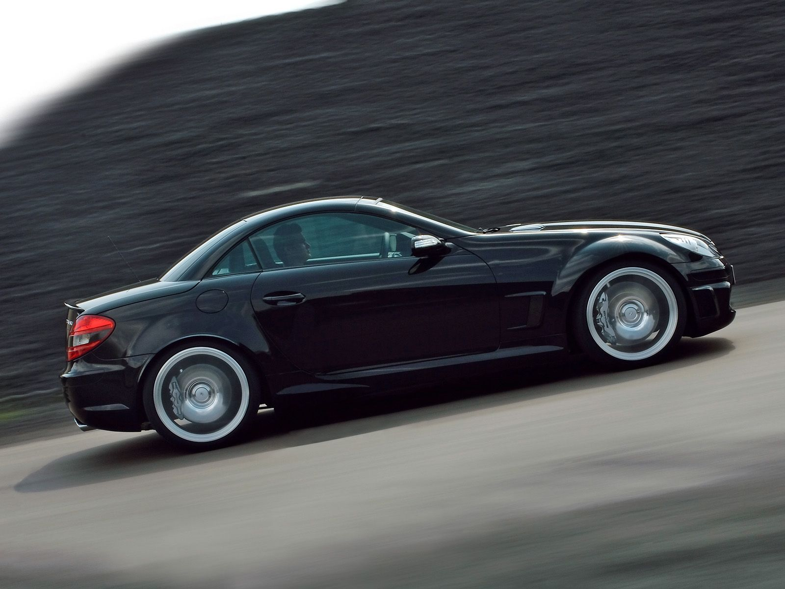 2007 Mercedes-Benz SLK 55 AMG Black Series Image | AUTOS MERCEDES ...