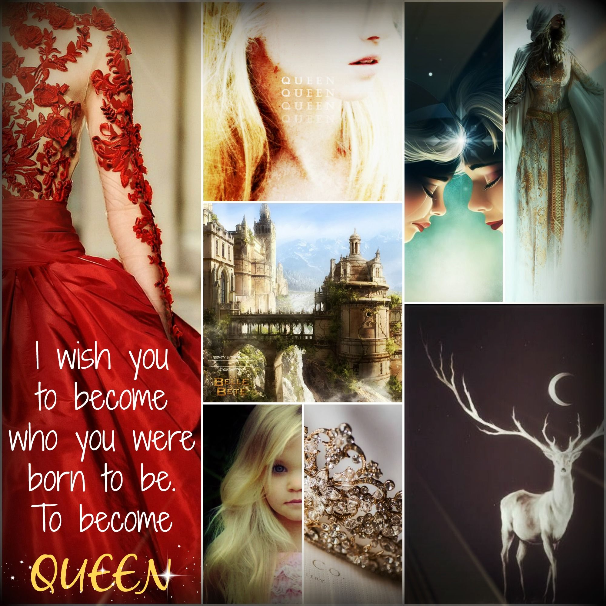 """""""I wish you to become who you were born to be. To become queen."""" ~ Heir of Fire"""
