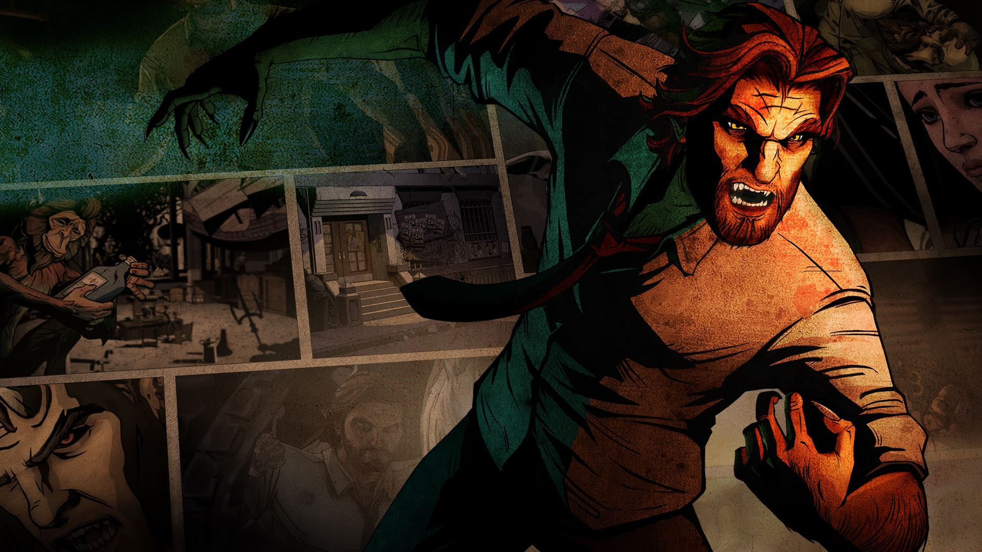 The Wolf Among Us Wallpaper Wallpapersafari The Wolf Among Us Wolf Jogos