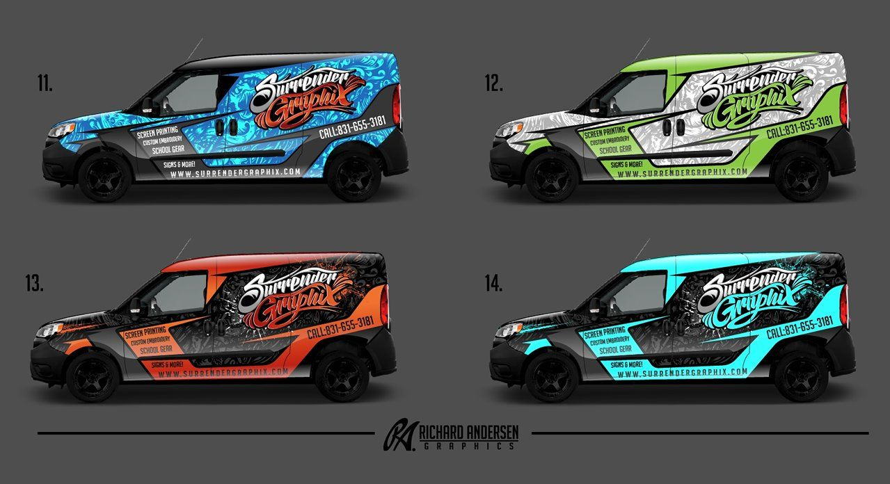 Commercial Wraps | Vehicle Wraps | Van wrap, Online portfolio design