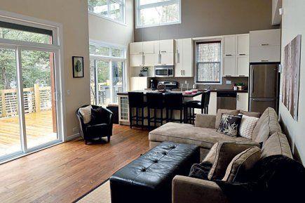 photo + salle de séjour + cuisine + air ouverte - Recherche Google - plan salon cuisine sejour salle manger