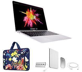 "2019 Apple Macbook Air 13"" Retina 128GB Bundle - QVC.com"