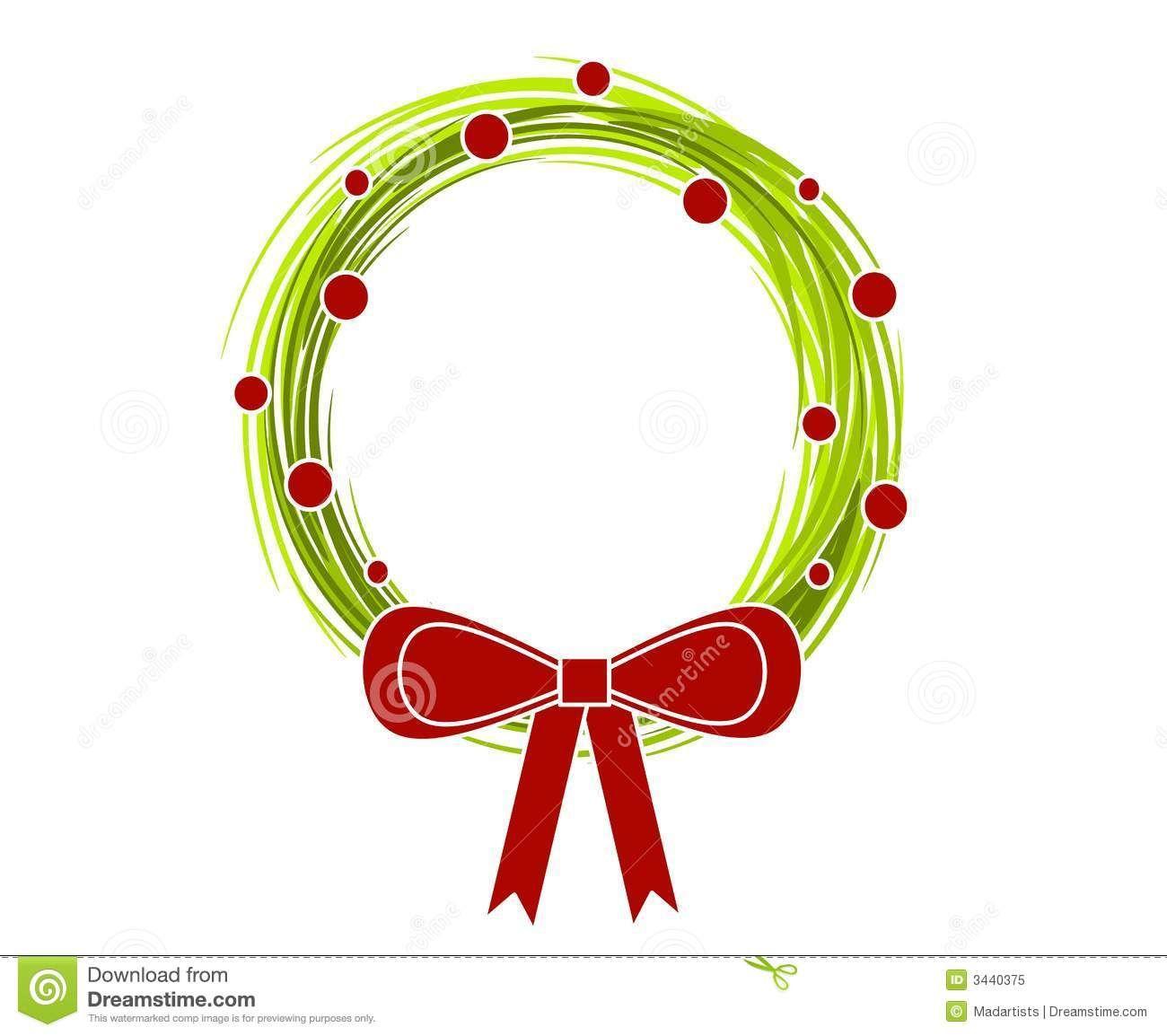 Christmas wreath modern. Clip art google search