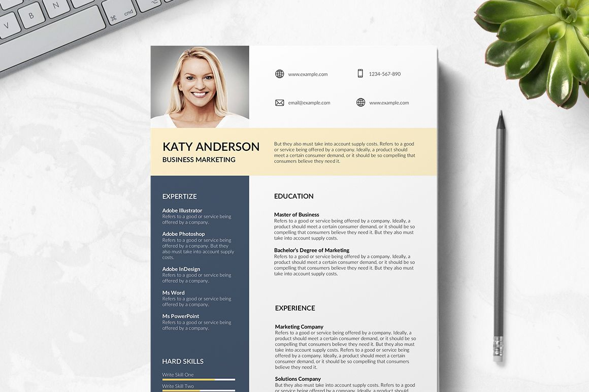Best Resume Templates 2019 Free Download Word in 2020