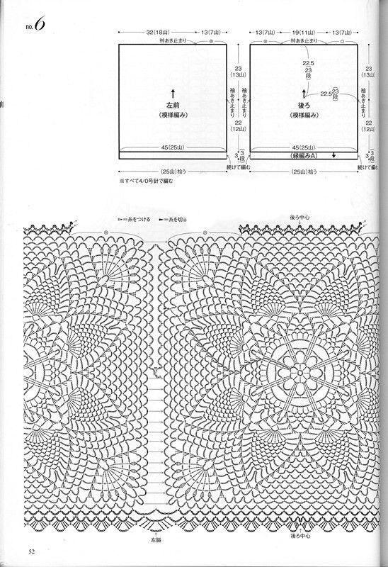 Crochet un gilet de 3 carrés | Remera, Blusas y Mamá