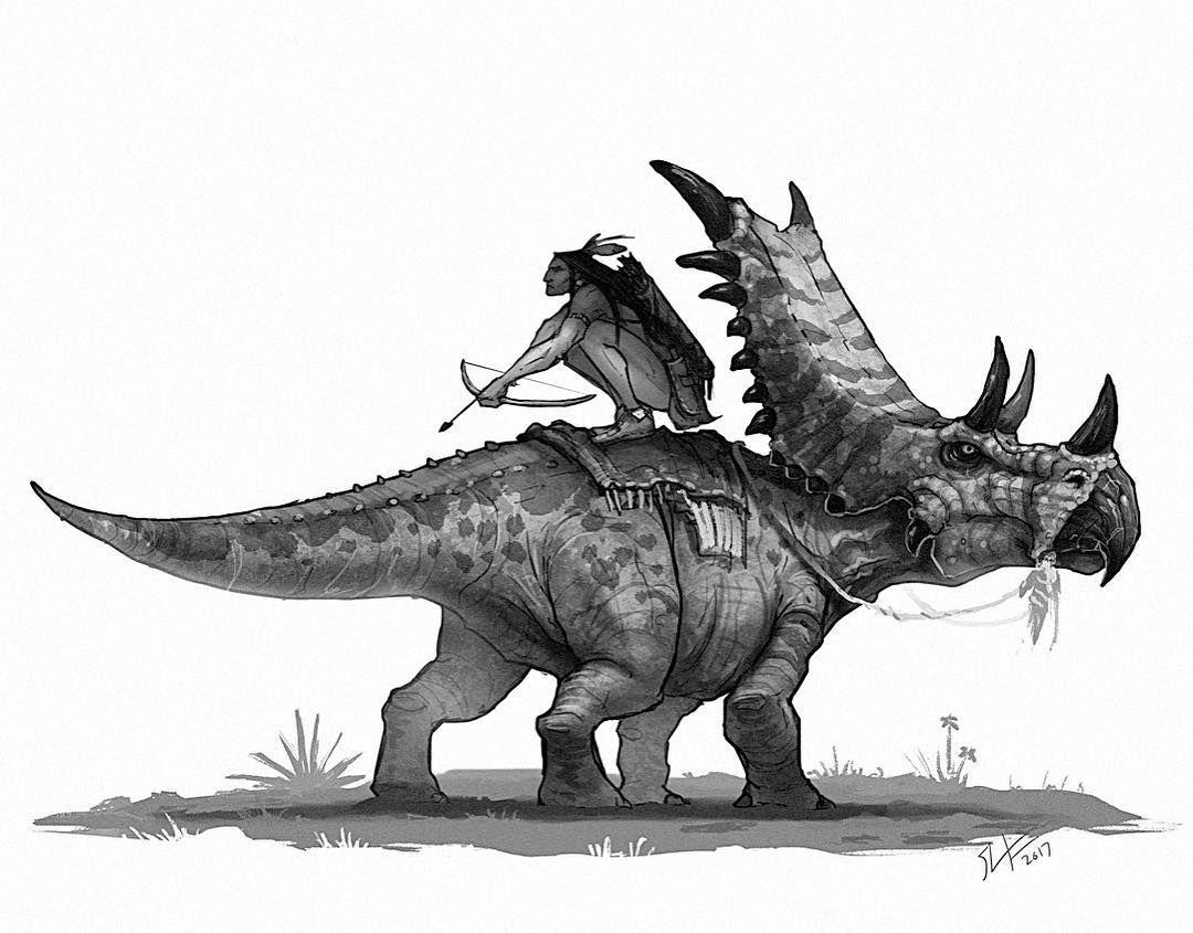 Uncategorized Sketches Of Dinosaurs chasmosaurus ideal for ambush western dinos pinterest ambush