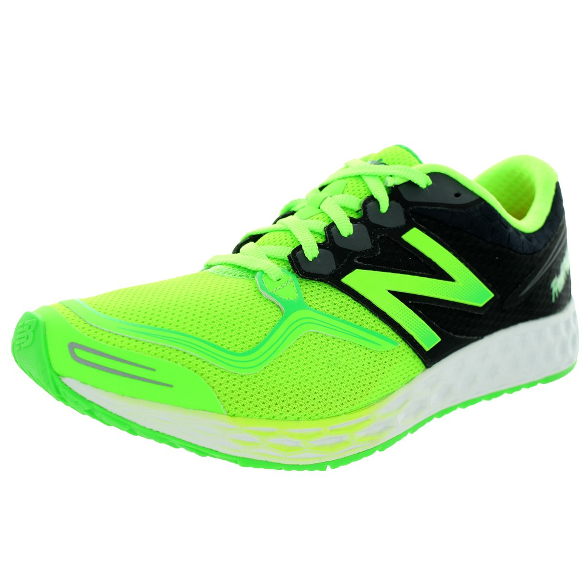 New Balance Men's Fresh Foam Zante Lime Green With Black Running Shoe