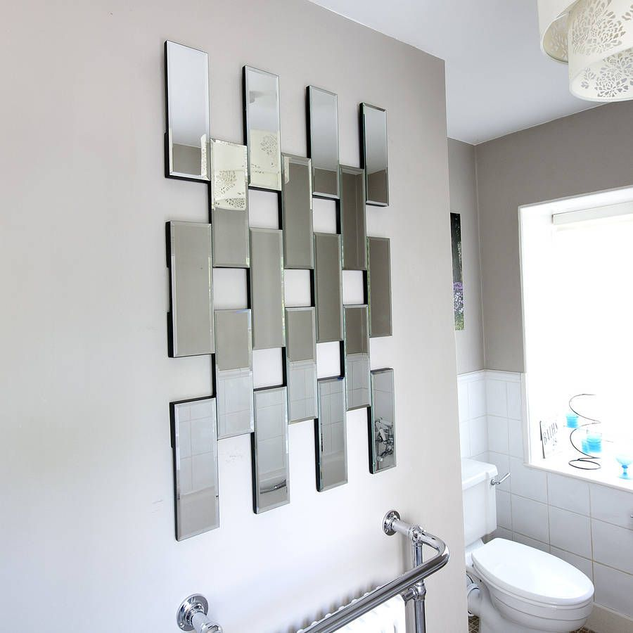 All Glass Tile Mirror