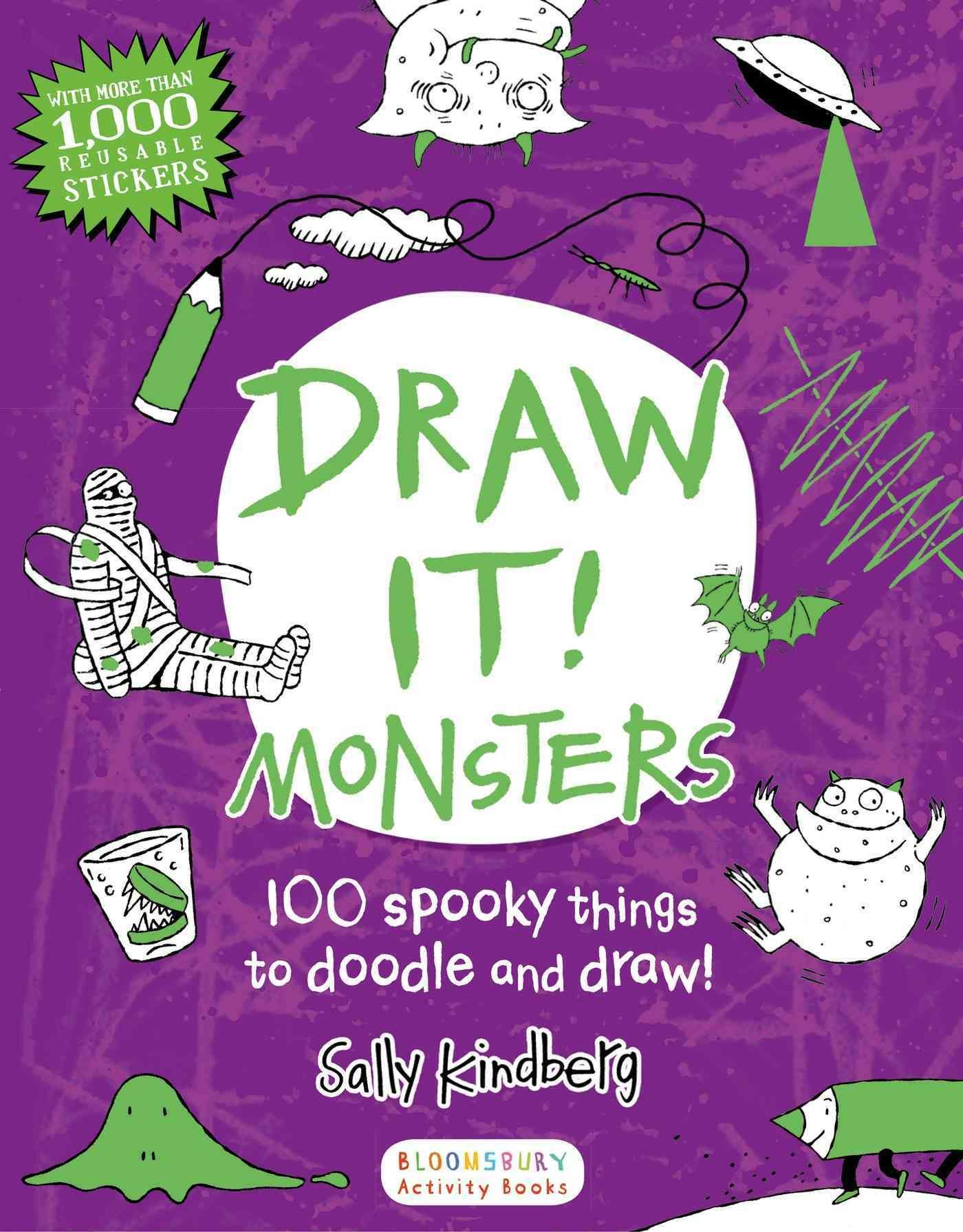 Draw It! Monsters: 100 Spooky Things to Doodle and Draw!