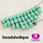 Tutorial - Videos: How to Perform Increases in Square Stitch Bead Weaving | Beadaholique (Tutorial - Videos: Cómo incrementar cuentas en la técnica de Puntada Cuadrada)