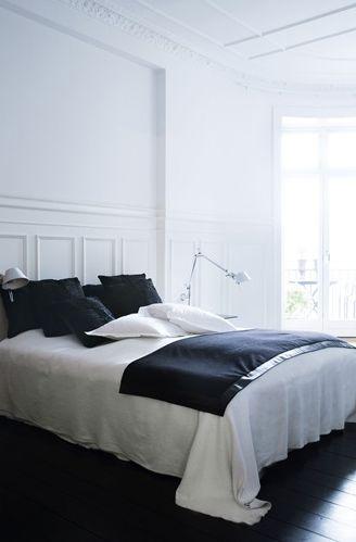 Paris Style apartment in Denmark - via Coco Lapine Design