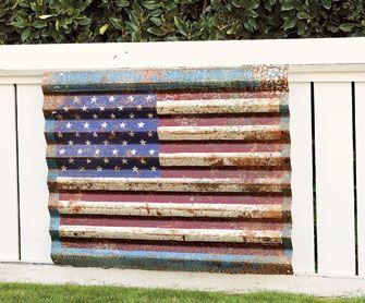 8923c2935c35 Corrugated metal art