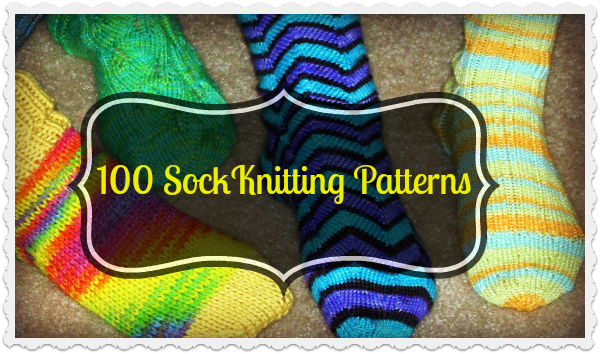 100 FREE Sock Knitting Patterns - The Knit Wit by Shair ...eine ...