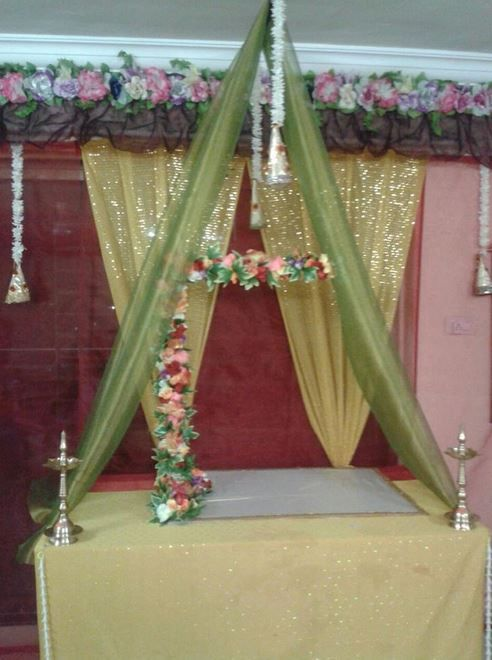 Mandap Decoration for Ganesh Chaturthi | Ganpati ...