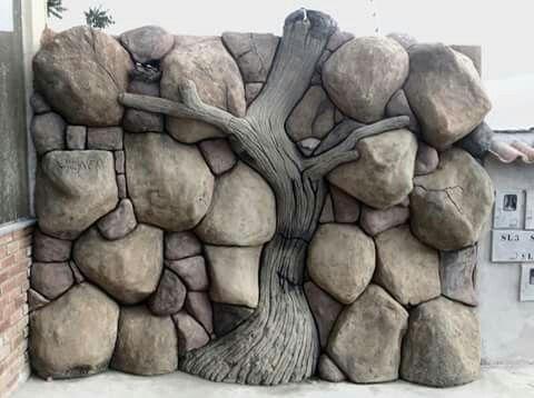 Pin By Zoe Zeng On Carving Concrete Concrete Art Concrete Sculpture Stone Mosaic Path