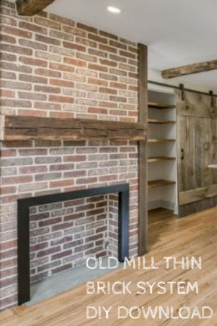 Your Free Old Mill Thin Brick System Has You