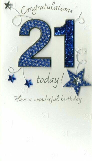 Congratulations Happy Birthday 21 Happy 21st Birthday Cards 21st Birthday Cards 21st Birthday Wishes