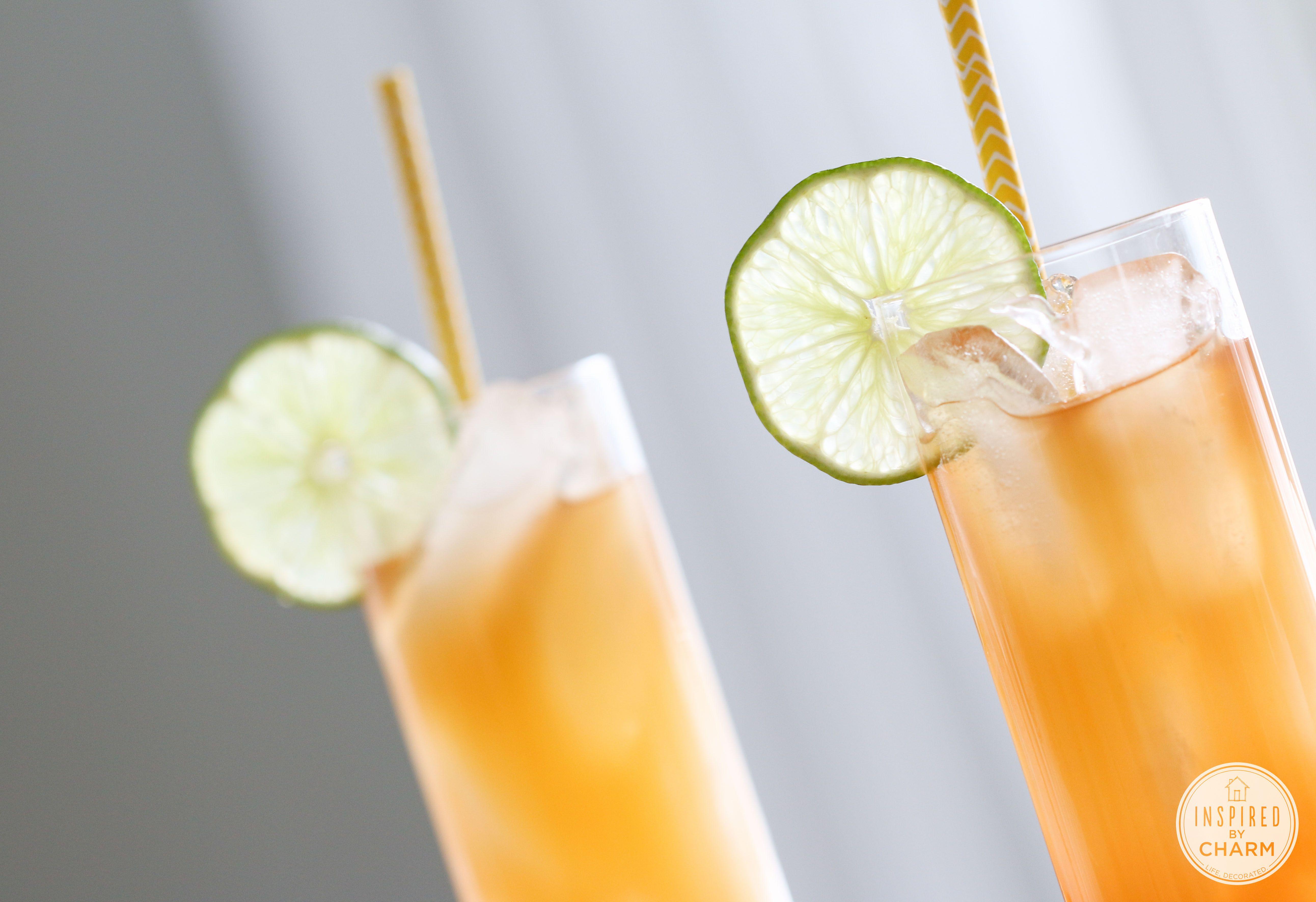 Rum Punch | Inspired by Charm #DrinksandLinks