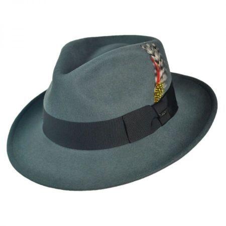 fbb23d67c47 C-Crown Crushable Wool Felt Fedora Hat