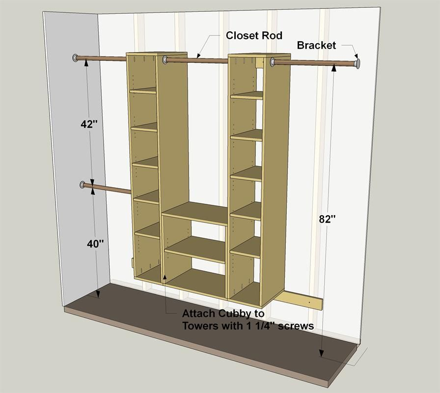 Standard Closet Shelf Height Home Decor
