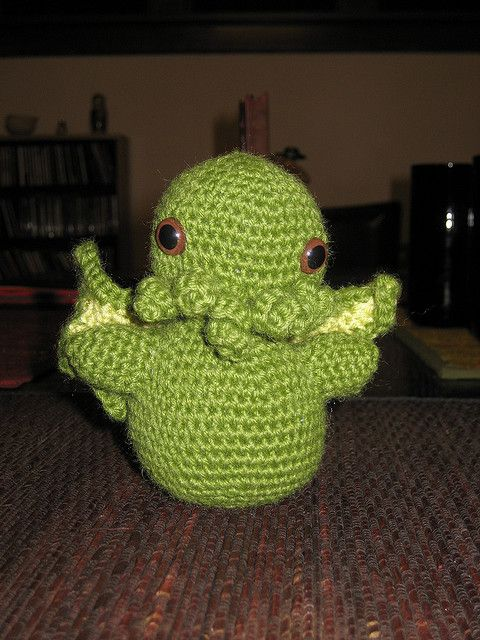 Cthulhu | Crochet Patterns | Pinterest
