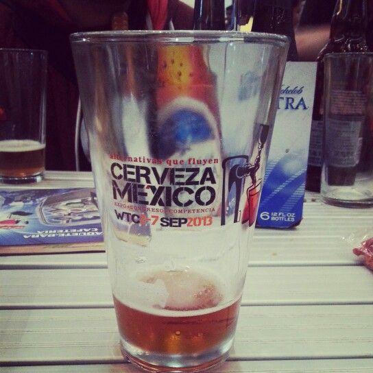 Tres años consecutivos de ir a Cerveza México.