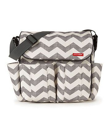 d367e7568fe13 Skip Hop Dash Changing Bag - Chevron - baby changing bags - Mothercare