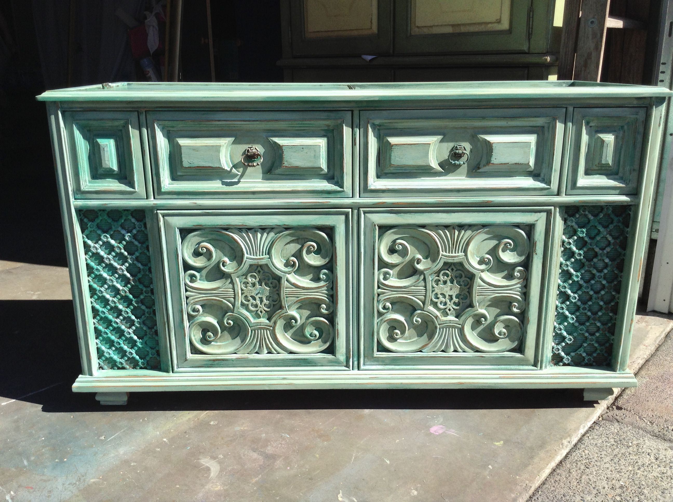 Painted Vintage Hi Fi Stereo Cabinet From Re New Relics Www Facebook Com Renewfurniturefinds Vintage Stereo Cabinet Stereo Cabinet Stereo Cabinet Redo