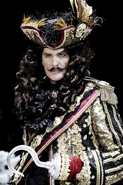 David Hasselhoff As Captain Hook
