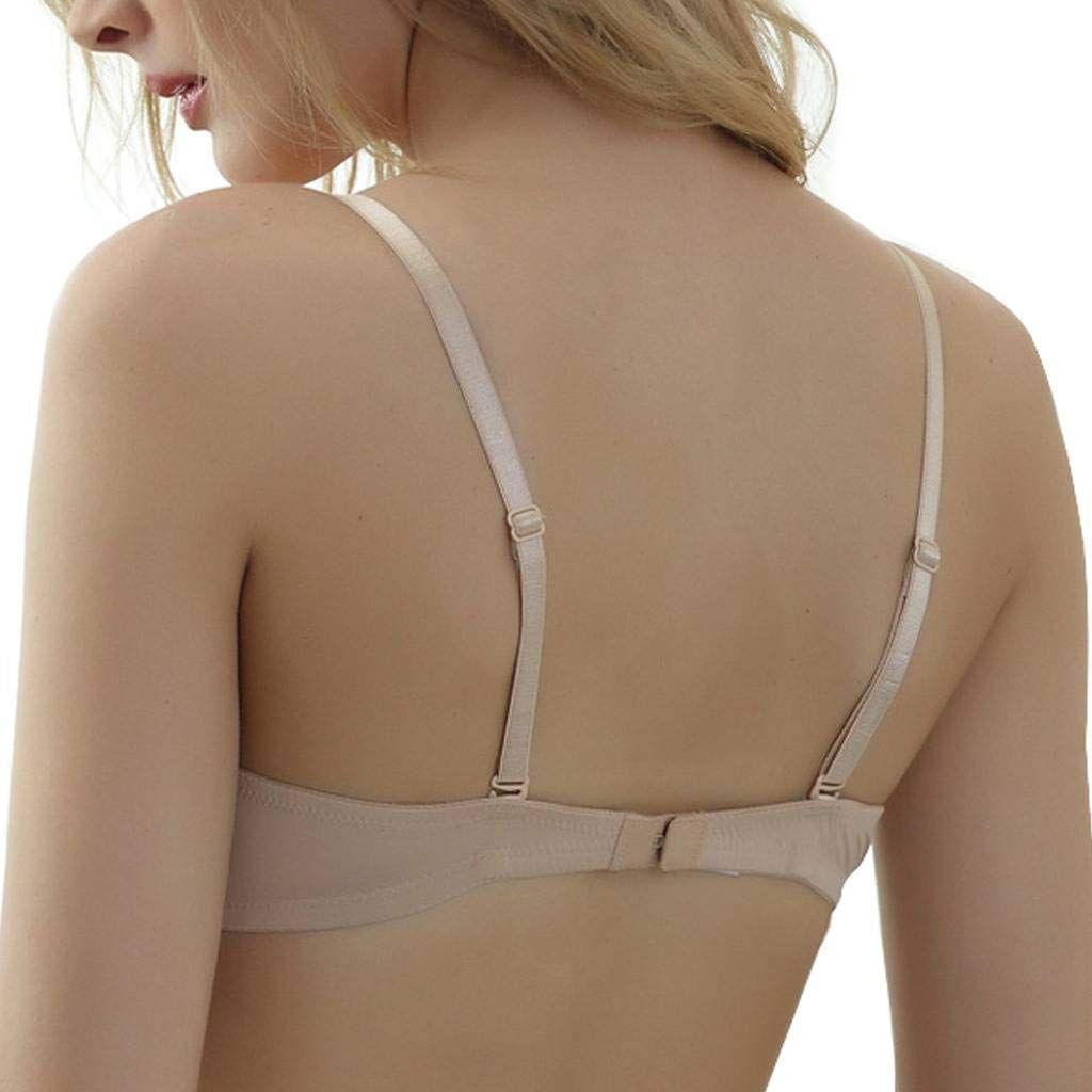 new reputation first replicas Nanier Low Back Bras for Women Push up Plunge Bra ...