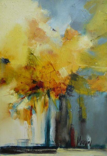 Fleurs D Automne Fleurs Abstraites Peinture Abstraite Peinture