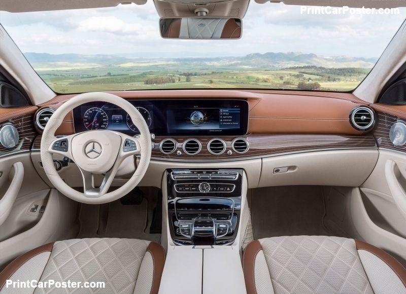 Mercedes-Benz E-Class Estate 2017 poster   A. Mercedes-Benz - New ...