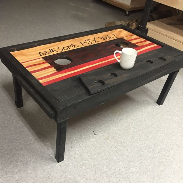 Photo of $50 Cassette Tape Coffee Table (Guardians of the Galaxy)