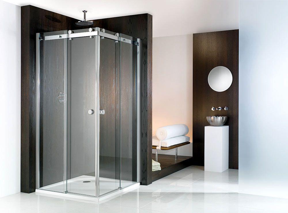 Duschkabine Eckeinstieg Ideal Fur Kleine Schmale Bader In