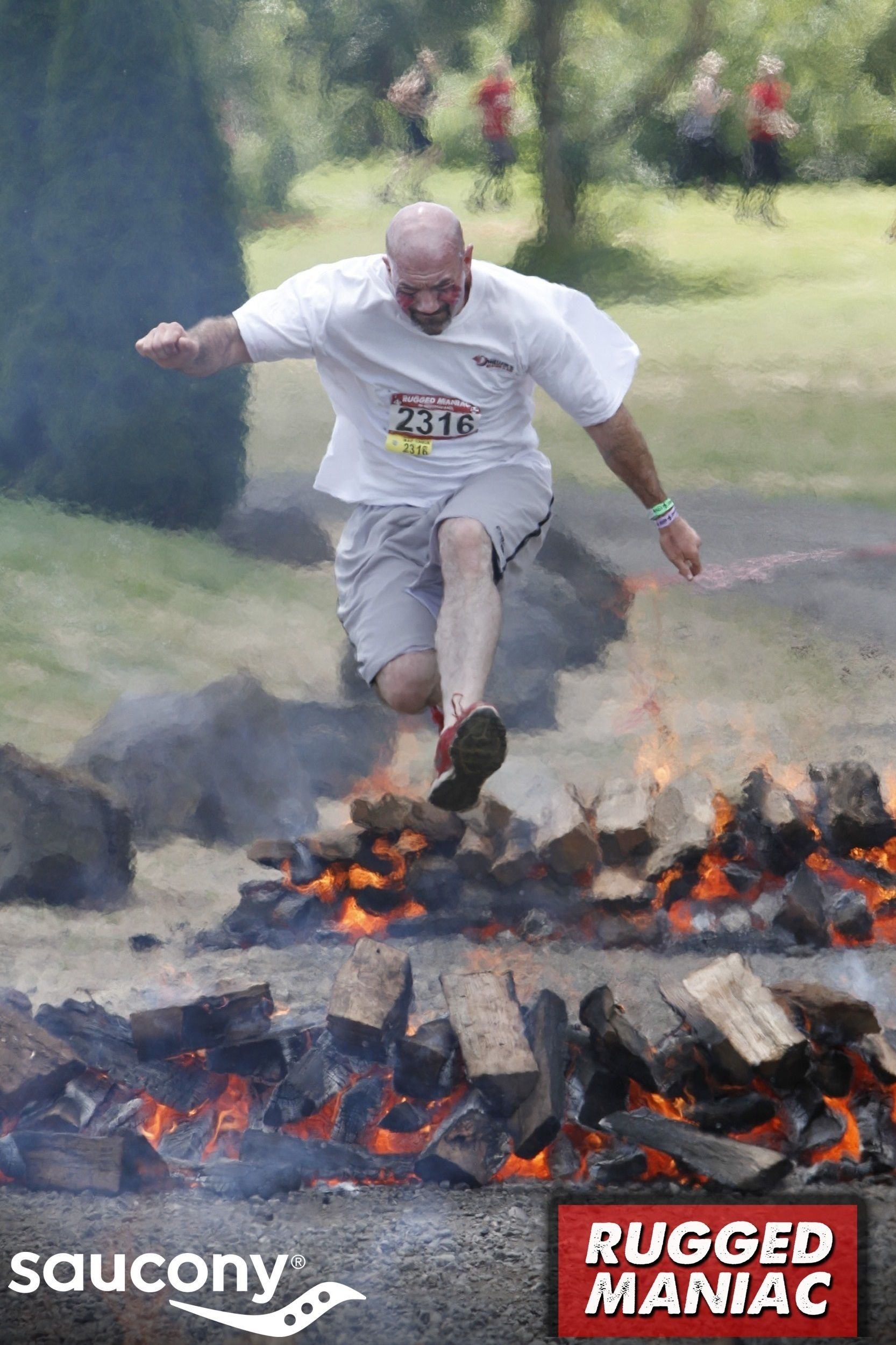 James' official Rugged Maniac Race photo Duct cleaning