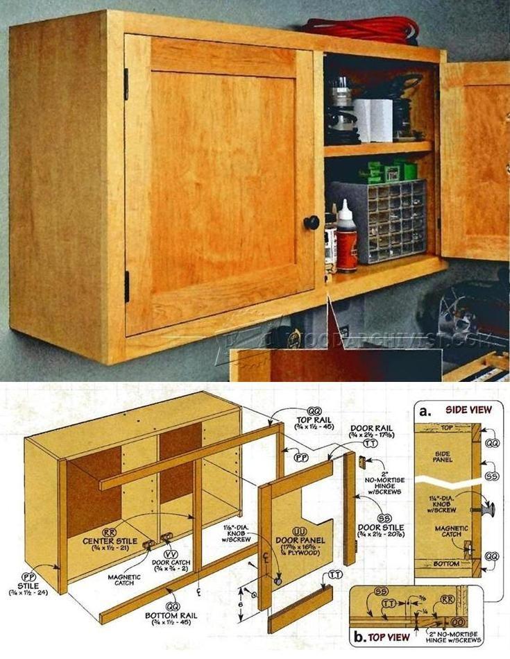 Shop Cabinet Plans Workshop Solutions Plans Tips And Tricks