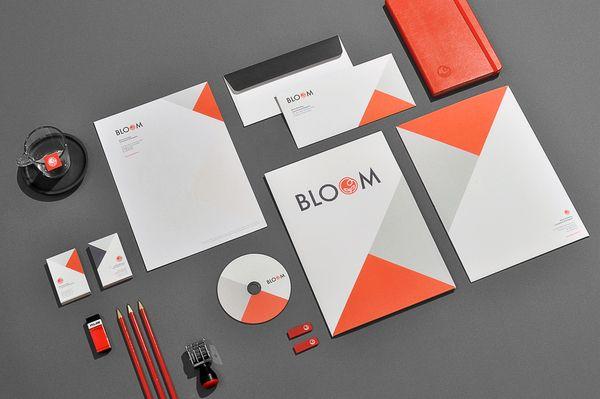 50 Inspiring Examples of Corporate Identity and Branding | PrintRunner Blog  | Graphic design branding, Corporate design, Branding design