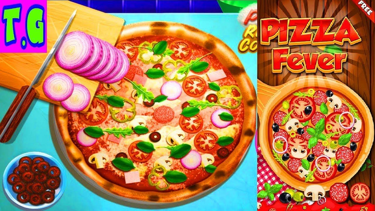 Game Pizza Realife Cooking online COOKING GAMES FOR KIDS