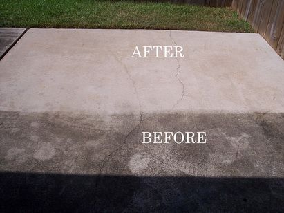 High Quality Cleaning Concrete Patio