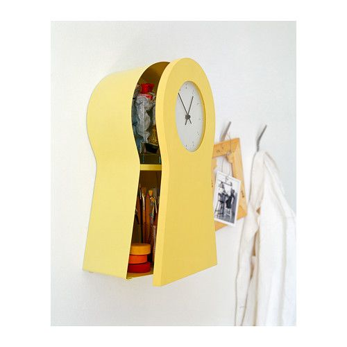 IKEA PS 1995 Clock yellow Ikea ps Clocks and Storage places