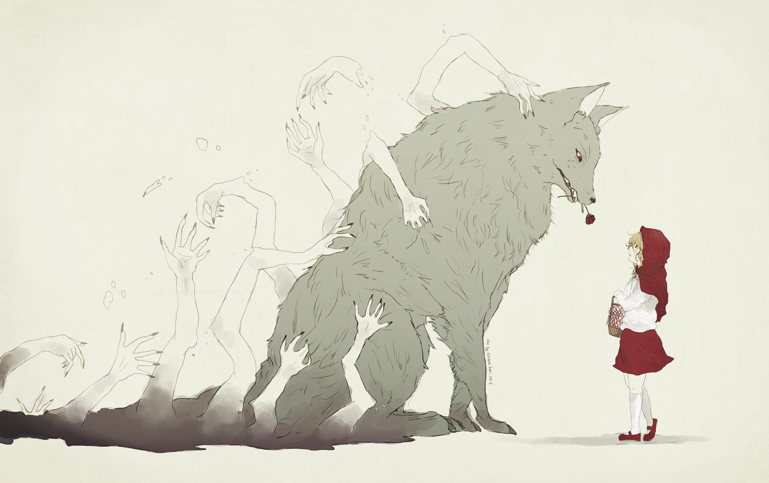 нее картинки парень и волк рисовать нашем интернет магазине