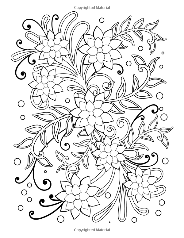 Amazon Com Simple Flower And Vine Designs Easy Designs And Stress Relieving Patterns Adult Colori Adult Coloring Patterns Coloring Pages Adult Coloring Pages