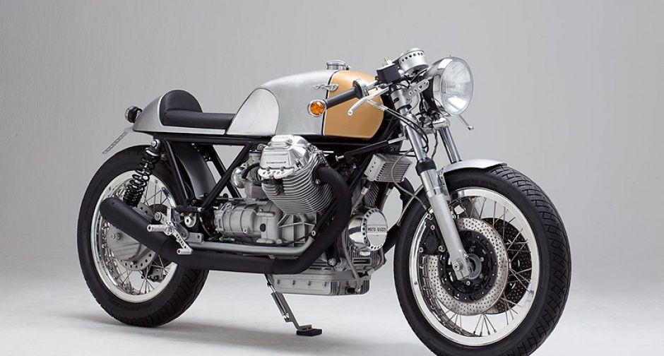 moto guzzi café racer: 'kaffeemaschine nummer 7' | classic driver
