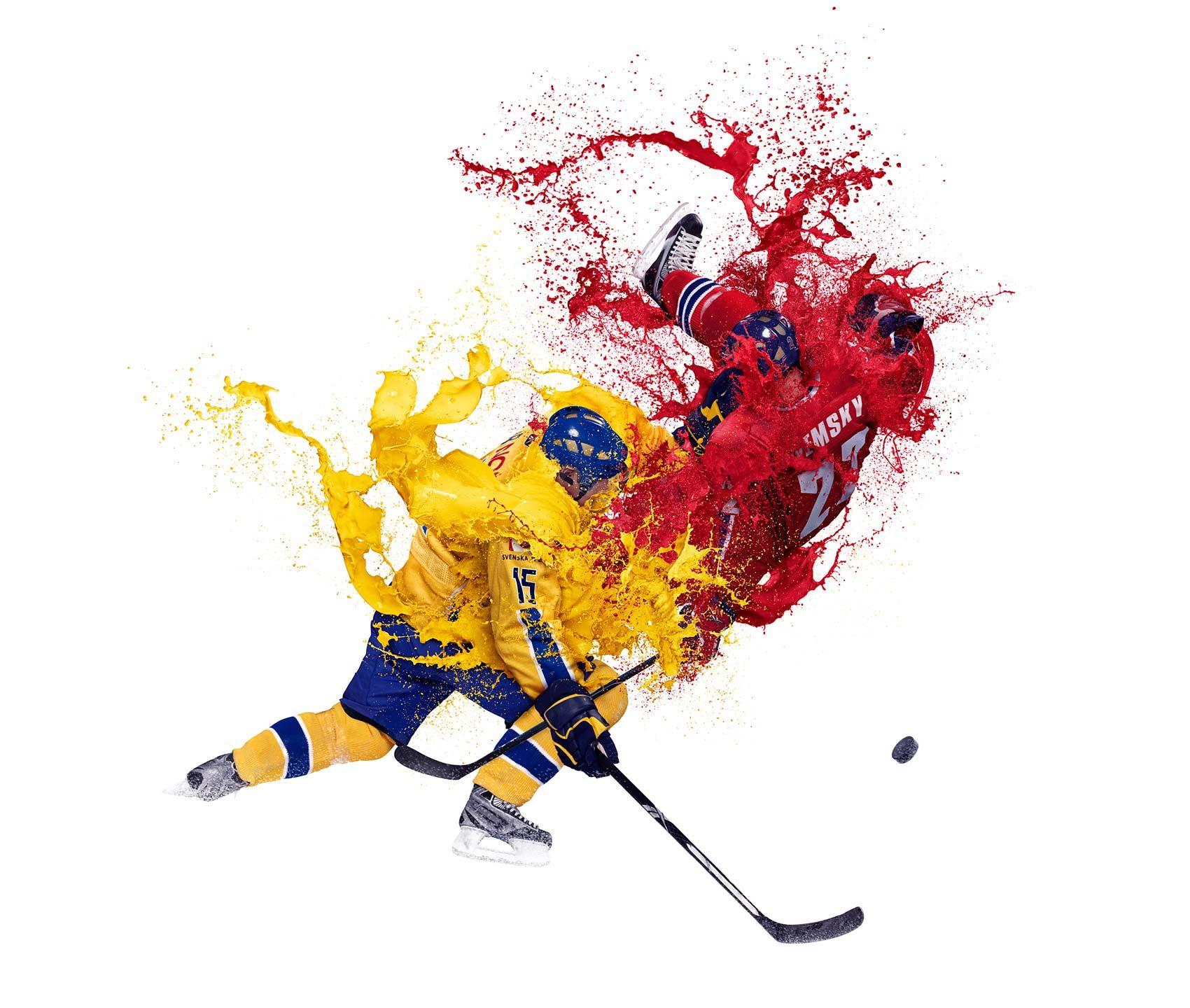 Iain Crawford Photographer Ice Hockey Cool Photos Smoke Painting