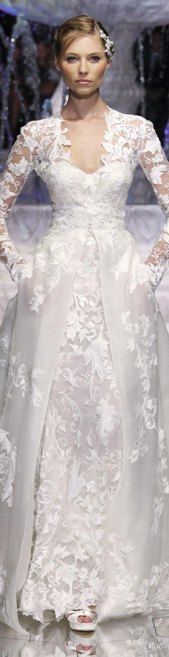 Spring bridal pronovias conservative dress but still