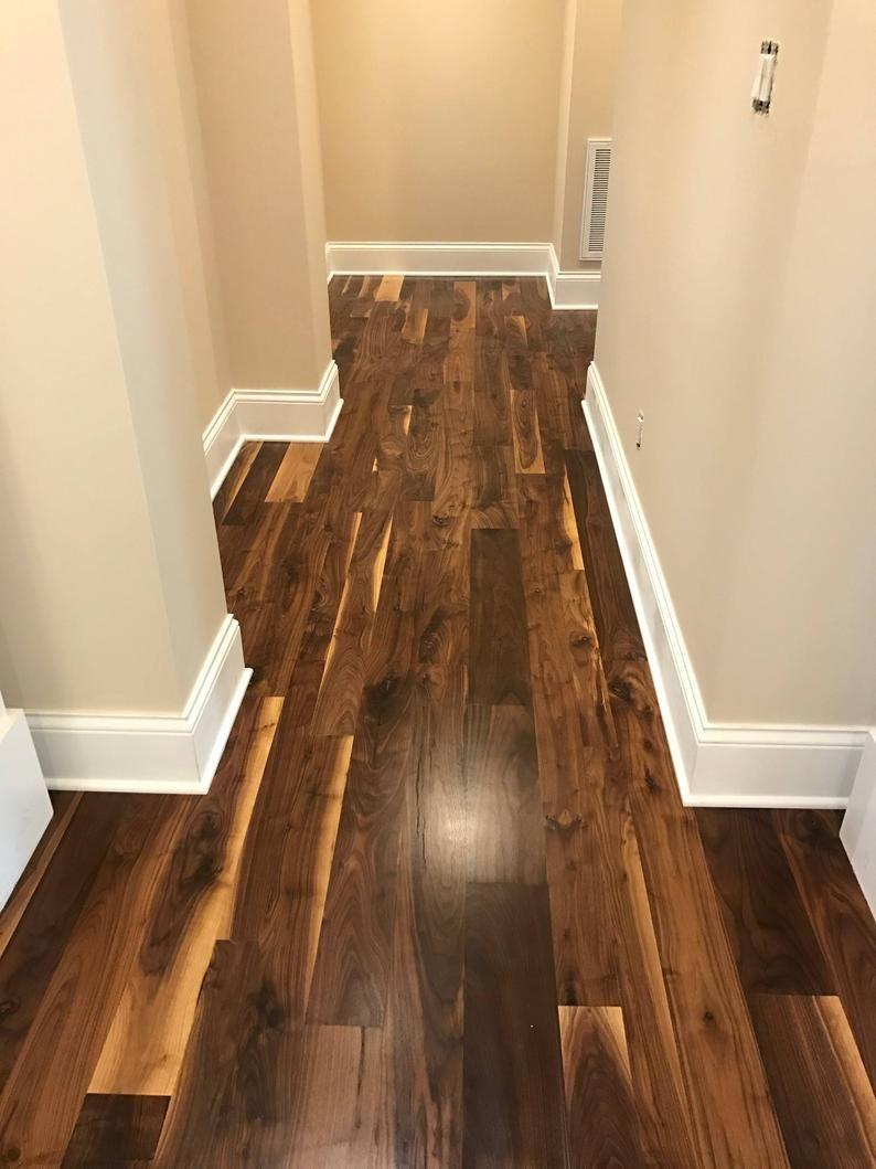 Sale Old Growth Black Walnut Hardwood Flooring In 2020 Wood Floors Wide Plank Walnut Hardwood Flooring Black Walnut Flooring