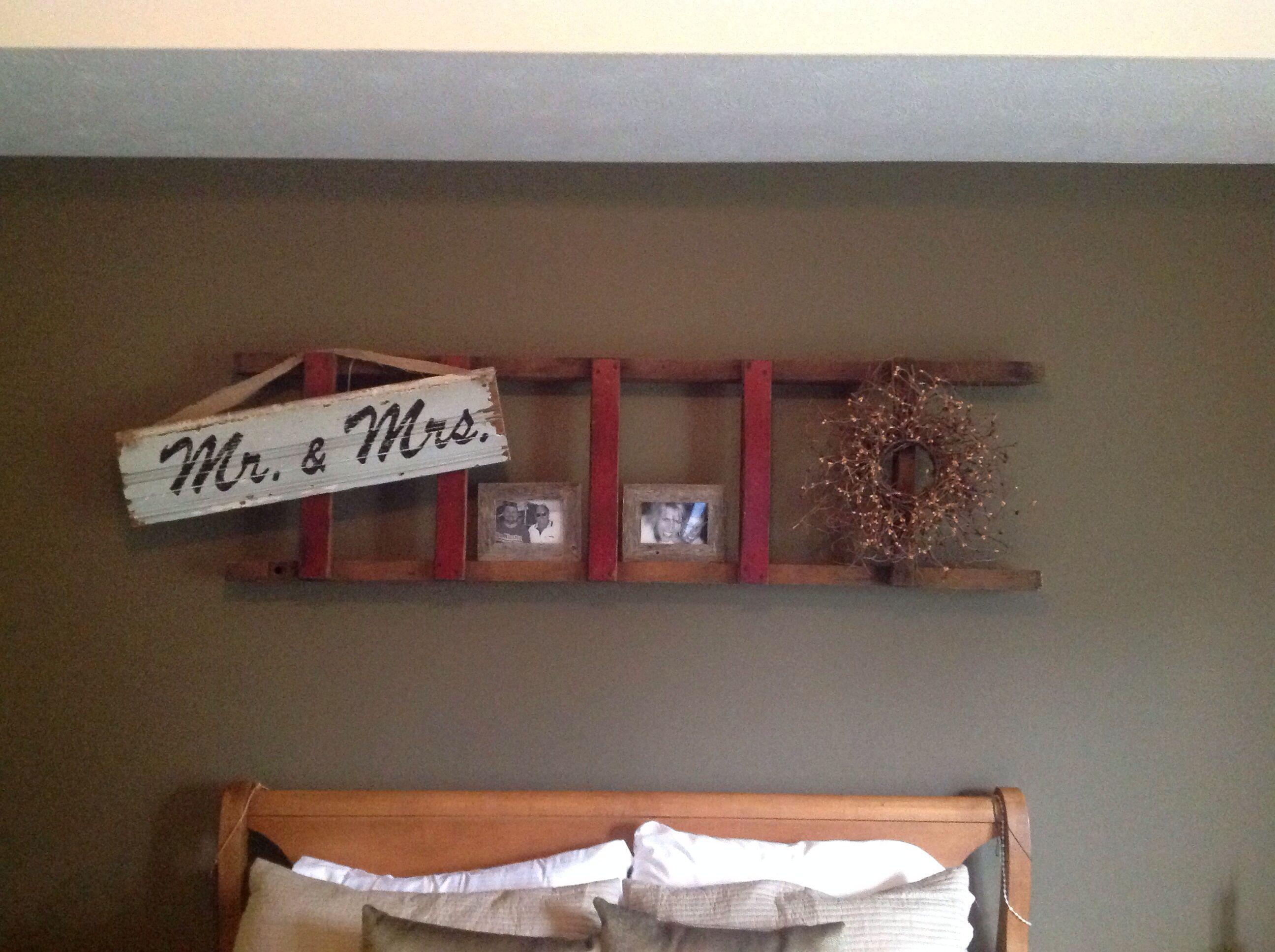 Old Wooden Ladder Home Decor That I Love Pinterest