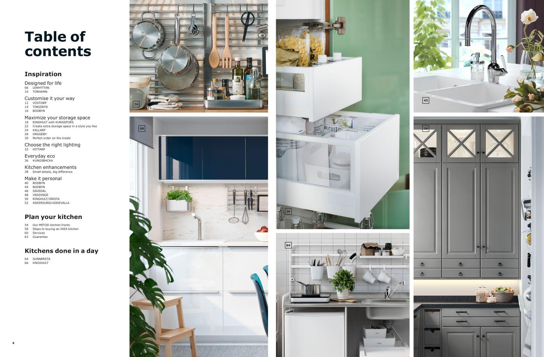 Ikea Kitchen Brochure 2019