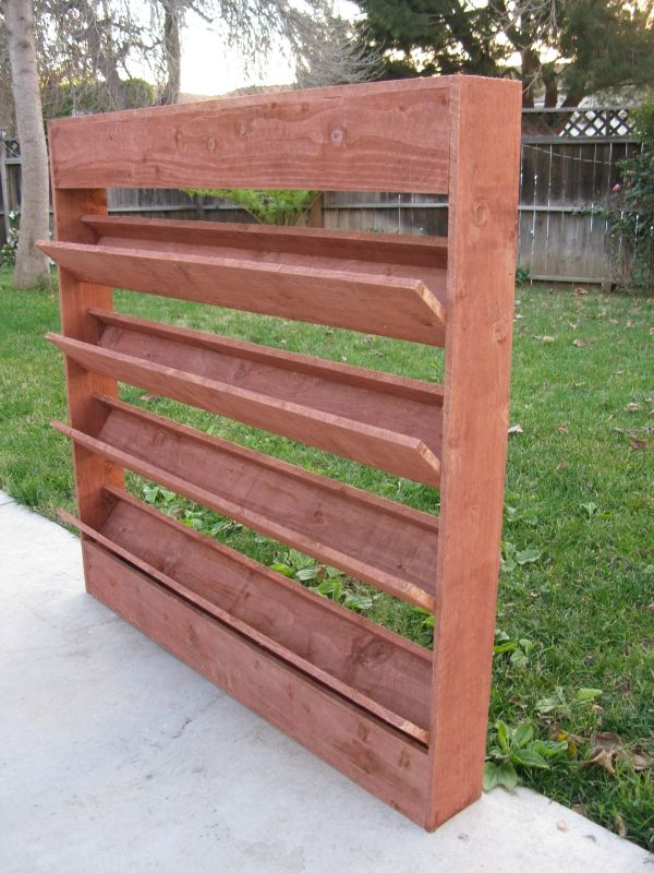 Wall Planter Considering Something Like This For The Deck To Grow Herbs